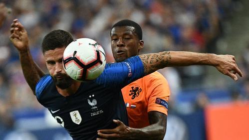 DIRECT. Ligue des nations : Giroud redonne l'avantage aux Bleus face aux Pays-Bas, après dix matchs sans marquer (2-1, 75e)