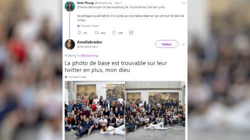Lyon : des étudiants noirs ajoutés sur la photo d'une école de dessin pour faire sa promotion aux Etats-Unis