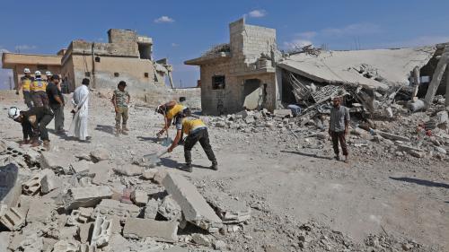 """Syrie : pourquoi la bataille d'Idleb pourrait devenir la """"catastrophe humanitaire"""" du siècle"""