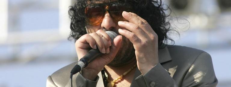 Rachid Taha, à Essaouira le 25 juin 2006.