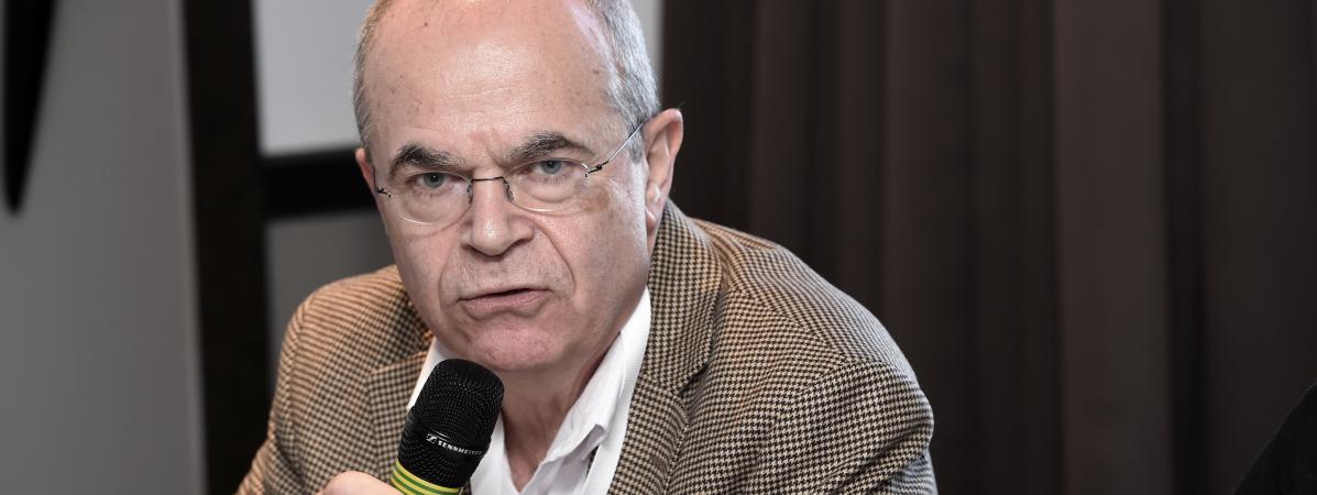 Le docteurBertrand de Rochambeau, lors d\'une conférence de presse, à Paris, le 11 février 2018.