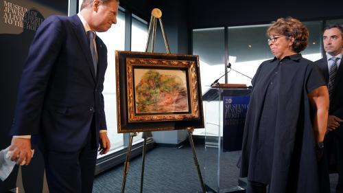 Les Etats-Unis restituent à une Française un tableau de Renoir spolié par les Nazis