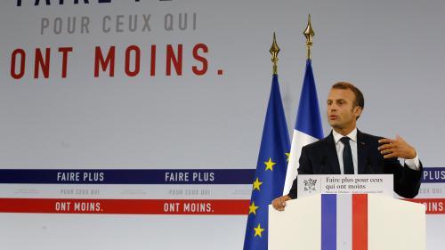 """Plan pauvreté : que sait-on du """"revenu universel d'activité"""" annoncé par Emmanuel Macron ?"""