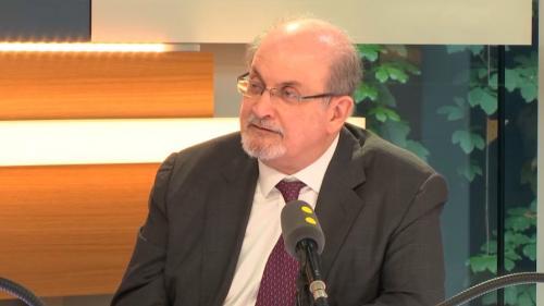 VIDEO. Donald Trump, nationalisme, équipe de France... Découvrez l'intégralité de l'entretien que Salman Rushdie a accordé à franceinfo