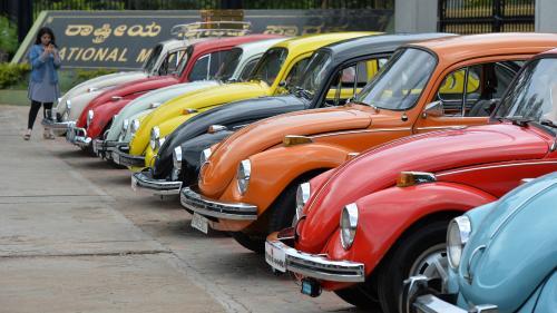 Volkswagen arrête la production de sa mythique Coccinelle en 2019