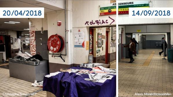 nouvel ordre mondial | AVANT/APRES. Découvrez les locaux de l'université de Tolbiac rénovés à la suite des blocages du printemps