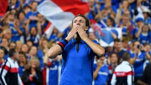 Coupe Davis : Lucas Pouille s'arrache pour offrir un 2-0 à la France contre l'Espagne