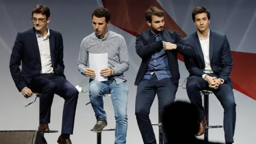 """ENQUETE FRANCEINFO. Derrière les """"Jeunes avec Macron"""", un immense coup de bluff"""