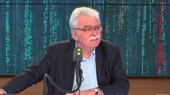 André Chassaigne, député PCF du Puy-de-Dôme et président du groupe de la Gauche démocrate et républicaine à l\'Assemblée nationale, le 15 septembre 2018.