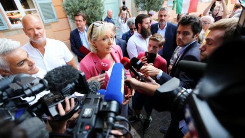 DIRECT. Regardez le discours de rentrée de Marine Le Pen à Fréjus
