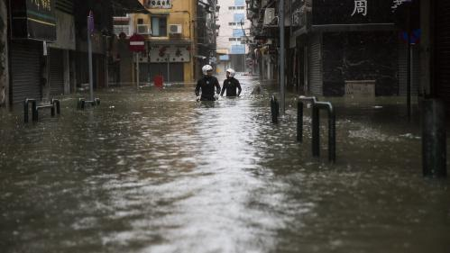 EN IMAGES. Aux Philippines, à Hong Kong... Les impressionnants dégâts provoqués par le super typhon Mangkhut