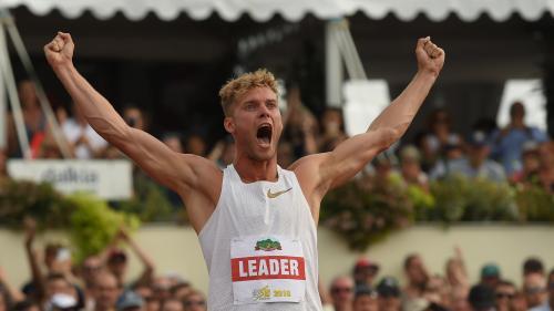 Le Français Kévin Mayer établit un nouveau record du monde du décathlon