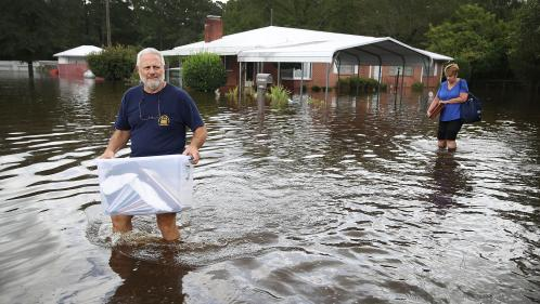 Etats-Unis : les inondations provoquées par l'ouragan Florence ont fait au moins 23 morts