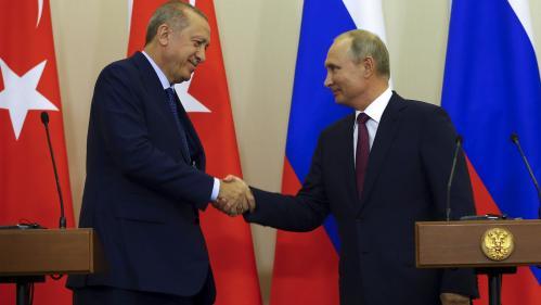 Syrie : la Russie et la Turquie se mettent d'accord pour éviter un assaut du régime à Idleb, dernier bastion des rebelles