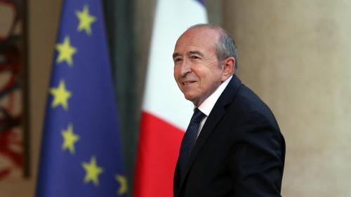 Le ministre de l'Intérieur, Gérard Collomb, annonce sa candidature à la mairie de Lyon en 2020