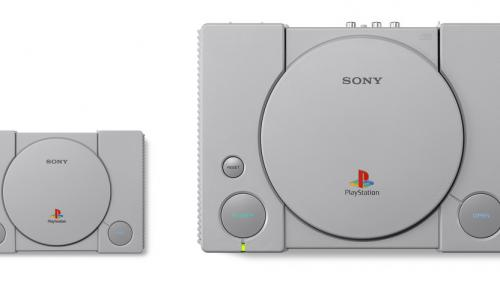 Sony réédite sa mythique console PlayStation en version miniature