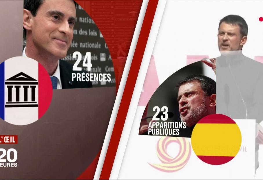 francetvinfo.fr - VIDEO. Qui finance le tour d'Espagne de Manuel Valls