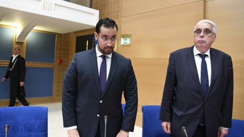 """VIDEO. Alexandre Benalla présente ses excuses au sénateur Philippe Bas, qu'il avait qualifié de """"petit marquis"""""""