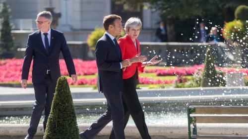 """Brexit : les négociations entre le Royaume-Uni et l'UE sont dans une """"impasse"""", affirme la Première ministre britannique Theresa May"""
