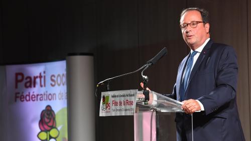"""""""Comportements excessifs"""", """"décisions injustes""""... François Hollande égratigne Emmanuel Macron lors d'un discours"""