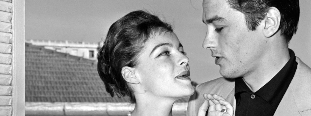 Romy Schneider : in love with ALAIN DELON