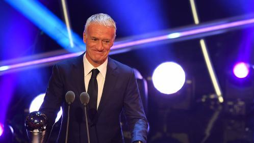 Foot : Didier Deschamps sacré entraîneur de l'année par la Fifa