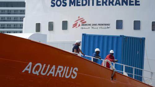 """""""Aquarius"""" : la France accueillera 18 des 58 migrants, les autres iront en Espagne, en Allemagne et au Portugal"""