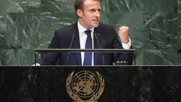 VIDEOS. COP 21, Iran, unilatéralisme : trois fois où Macron a visé Donald Trump sans le nommer devant l'assemblée générale de l'ONU