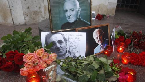 Un hommage national sera rendu à Charles Aznavour vendredi aux Invalides