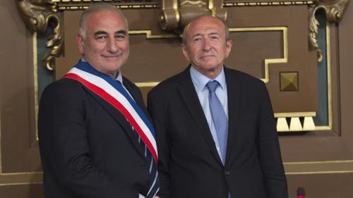 Le maire de Lyon Georges Képénékian annonce qu'il va céder sa place à Gérard Collomb