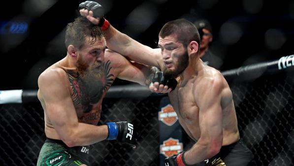 Le combat de MMA entre la star Conor McGregor et le Russe Khabib Nurmagomedov dégénère en bagarre générale