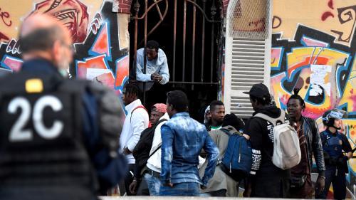 Marseille : évacuation d'un squat ayant hébergé jusqu'à 200 migrants