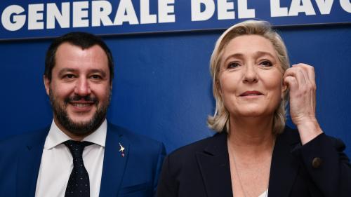 """Le Pen : en Italie, Salvini prouve que les solutions du RN """"marchent"""""""