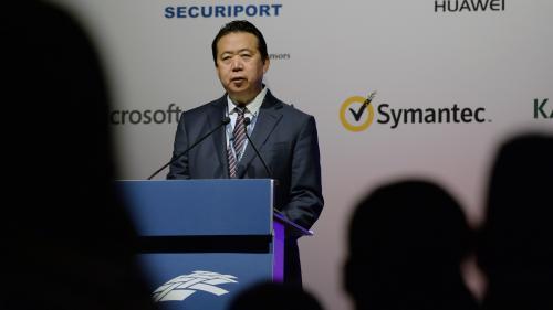 """Interpol annonce la démission de son président, accusé par la Chine d'avoir """"accepté des pots-de-vin"""""""