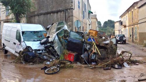 Espagne : au moins huit morts dans des inondations sur l'île de Majorque