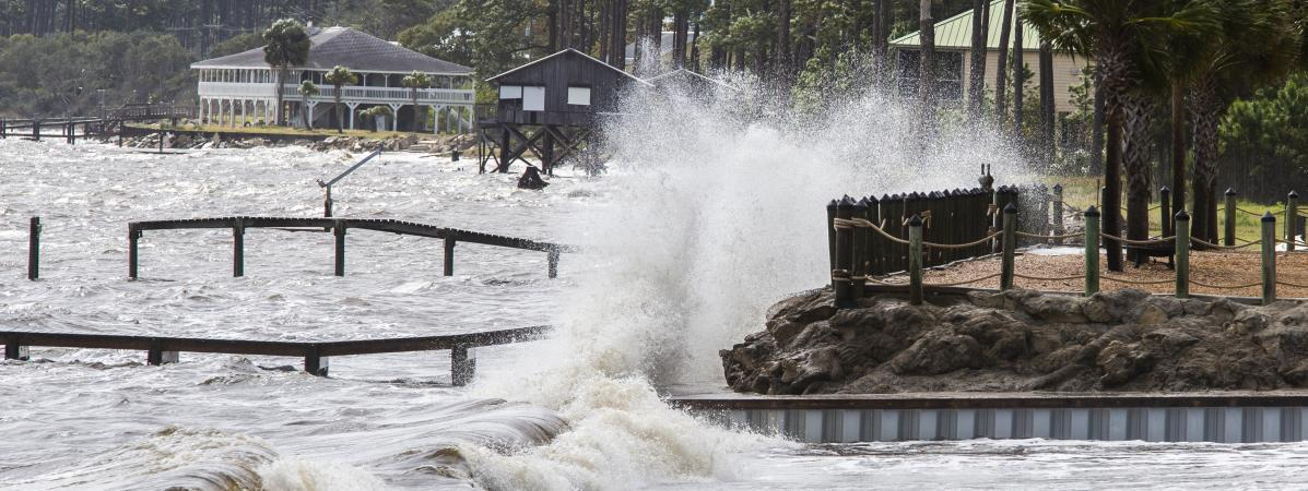 """Floride : l'ouragan Michael passe en catégorie 4 et devient """"extrêmement dangereux"""" 15942935"""