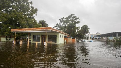 DIRECT. Toits arrachés, arbres couchés, rues inondées... La Floride fait face à l'ouragan Michael