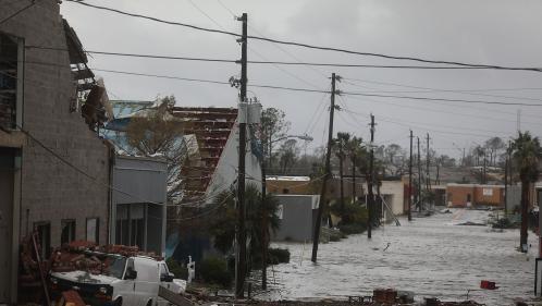 VIDEO. L'ouragan Michael déferle sur la Floride avec des vents à 250 km/h