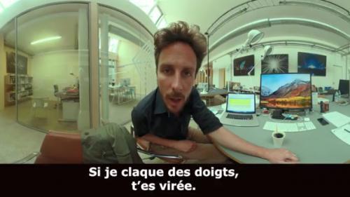VIDEO. Harcèlement sexuel : un court-métrage en réalité virtuelle pour vous mettre dans la peau d'une victime