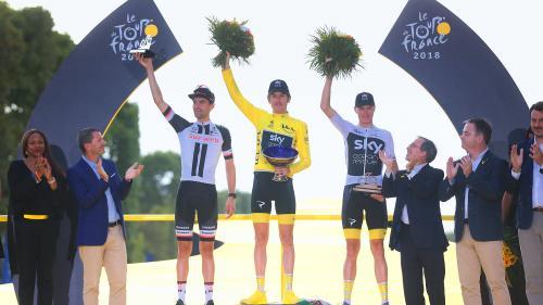 Tour de France : le trophée du vainqueur Geraint Thomas volé