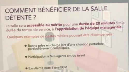 """Une salle de détente réservée aux cheminots """"méritants"""" fait polémique à la SNCF"""