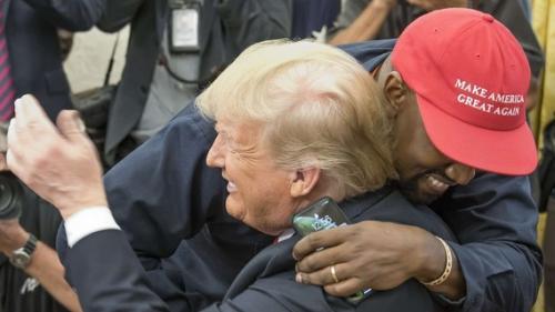 Kayne West reçu par Donald Trump à la Maison Blanche