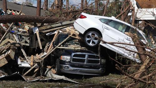 Etats-Unis : au moins six morts après le passage de l'ouragan Michael