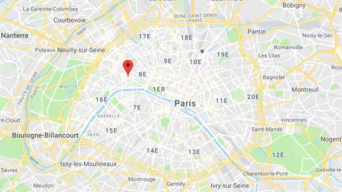 Paris : une fillette de deux ans et demi meurt percutée par un engin de chantier sur les Champs-Elysées