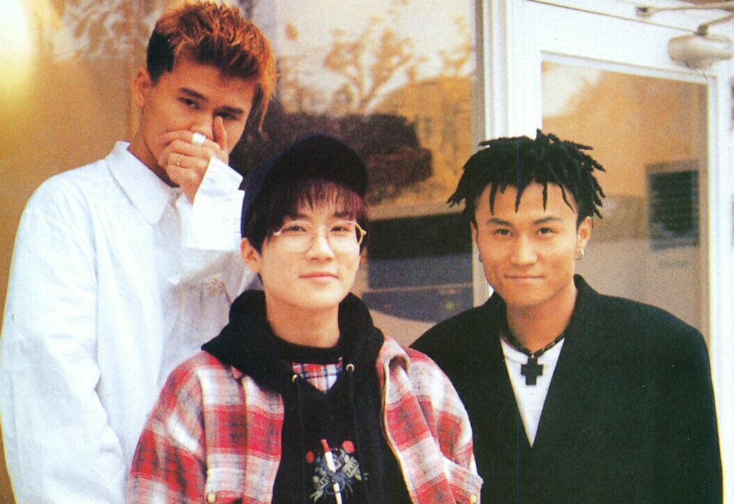 Le groupe Seo Taiji and Boys dans les années 90.