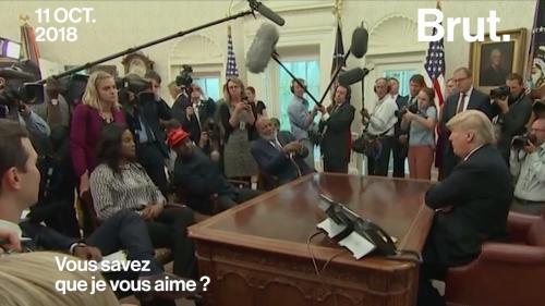 VIDEO. États-Unis : échange surréaliste entre Donald Trump et Kanye West à la Maison-Blanche