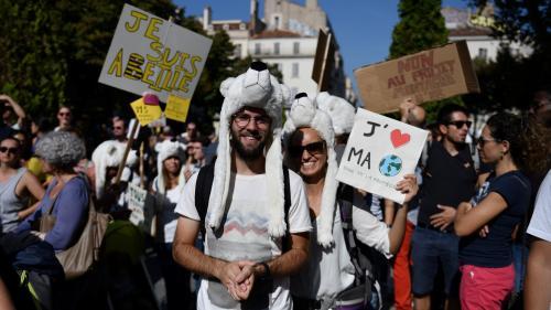 DIRECT. Marches pour le climat : le cortège a démarré et dans des dizaines d'autres villes en France