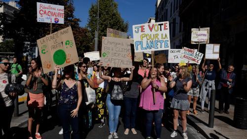 DIRECT. Marche pour le climat : 14 500 manifestants à Paris, selon un comptage indépendant