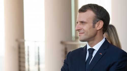 """VIDEO. Macron juge """"grave"""" la disparition de Jamal Khashoggi et promet d'en parler à la Turquie et à l'Arabie saoudite"""