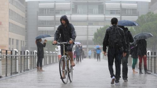 Le Tarn, l'Hérault, l'Aude et les Pyrénées-Orientales placés en vigilance orange aux orages et aux fortes pluies